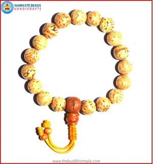 Indian Bodhi Seed Wrist Mala