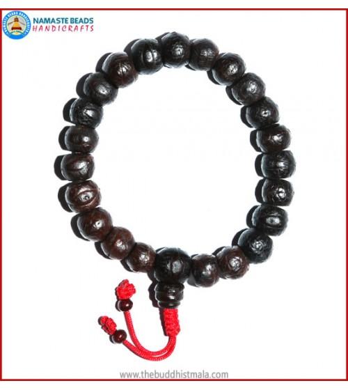 Dark Bodhi Seed Wrist Mala