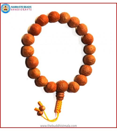 Natural Bodhi Seed Wrist Mala